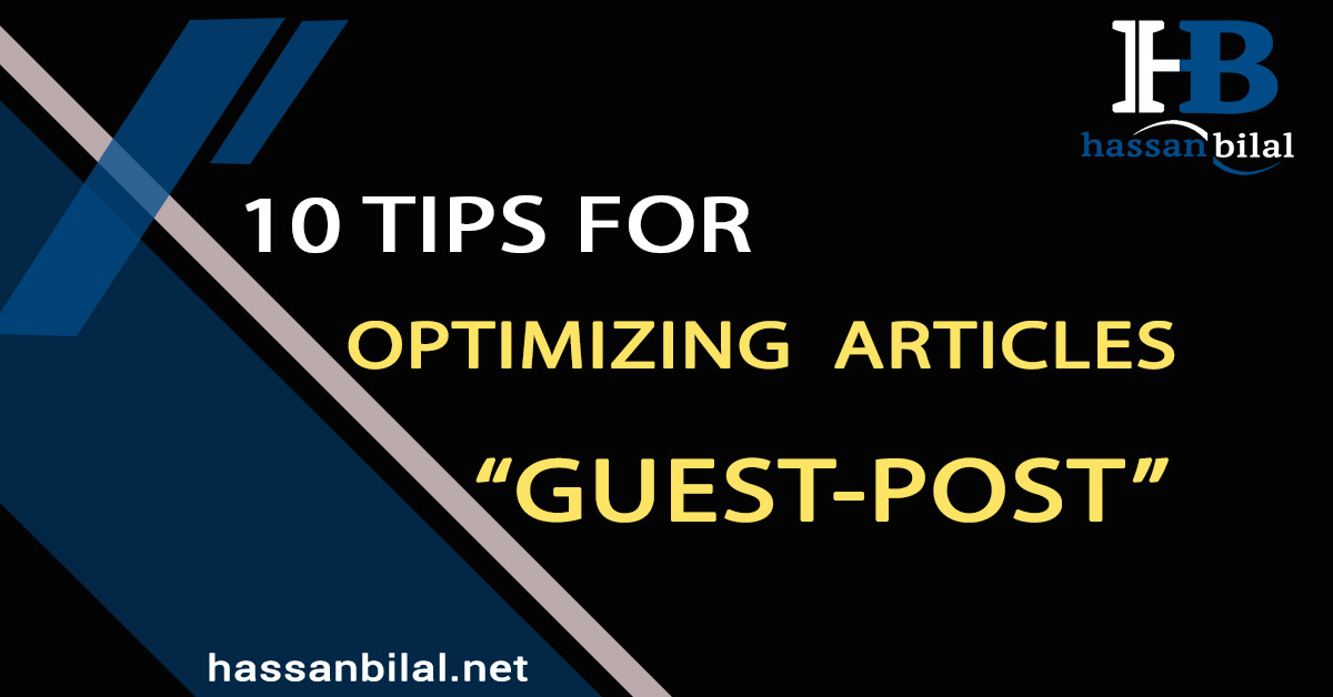 Guest post: Ten tips for optimizing online articles