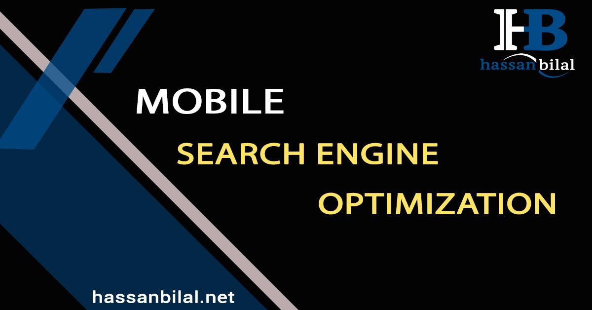 Mobile Search Engine Optimization