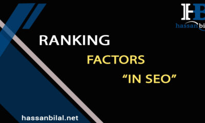 Ranking factors in search engines