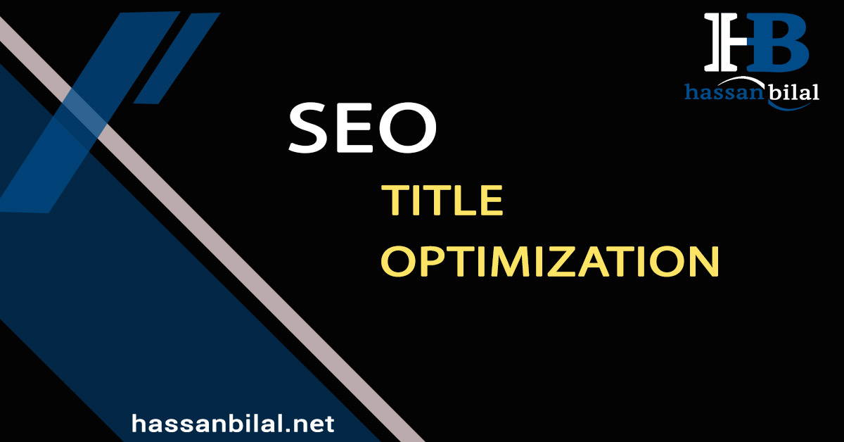 SEO What you need for title optimization