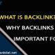 What is a backlink and why backlinks are important for SEO